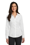 Women's Red House Pinpoint Oxford Non-Iron Shirt White Thumbnail