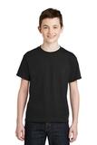 Youth Ultra Blend 50/50 Cotton / Poly T-shirt Black Thumbnail