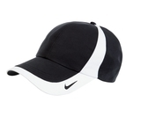 Nike Golf Technical Colorblock Cap Black with White Thumbnail