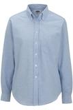 Women's Dress Button Down Oxford LS Blue Thumbnail