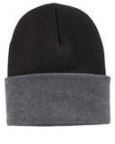 Knit Cap Black with Athletic Oxford Thumbnail