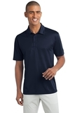 Legendary Sateen Moisture Wicking Polo Navy Thumbnail