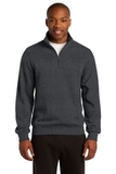 1/4-zip Sweatshirt Graphite Heather Thumbnail