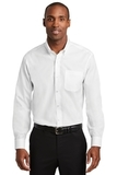Red House Pinpoint Oxford Non-Iron Shirt White Thumbnail