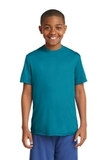 Youth Competitor Tee Tropic Blue Thumbnail