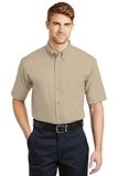 Short Sleeve Superpro Twill Shirt Stone Thumbnail