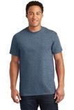 Ultra Cotton 100 Cotton T-shirt Heathered Indigo Thumbnail