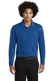 RacerMesh Long Sleeve Polo True Royal Thumbnail