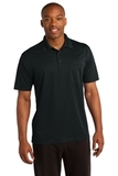 Micropique Sport-wick Pocket Polo Black Thumbnail
