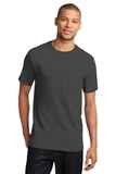100 Cotton T-shirt With Pocket Charcoal Thumbnail