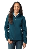 Women's Eddie Bauer Soft Shell Jacket Dark Adriatic Thumbnail
