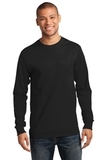 Essential Long Sleeve T-shirt Jet Black Thumbnail