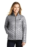 Women's The North Face ThermoBall Trekker Jacket Mid Grey Thumbnail