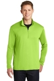 Competitor 1/4-Zip Pullover Lime Shock Thumbnail
