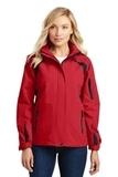 Women's All-season II Jacket True Red with Black Thumbnail