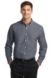 Tall SuperPro Oxford Shirt Black Thumbnail