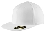 Flexfit Flat Bill Cap White Thumbnail