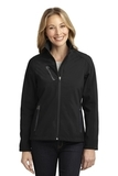 Women's Welded Soft Shell Jacket Black Thumbnail