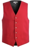 Men's Economy Vest Red Thumbnail