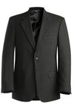 Men's Poly / Wool Suit Coat Charcoal Thumbnail