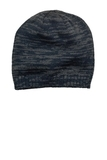 District Spaced-dyed Beanie New Navy with Charcoal Thumbnail