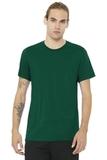 BELLACANVAS Unisex Jersey Short Sleeve Tee Evergreen Thumbnail