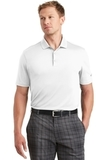 Nike Golf Dri-FIT Players Polo with Flat Knit Collar White Thumbnail