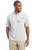 Eddie Bauer Short Sleeve Performance Fishing Shirt White Thumbnail