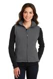 Women's Value Fleece Vest Iron Grey Thumbnail