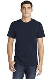 American Apparel Fine Jersey T-Shirt Navy Thumbnail
