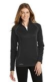 Women's Eddie Bauer 1/2-Zip Base Layer Fleece Black Thumbnail