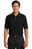 Nike Golf Dri-FIT Classic Tipped Polo Black Thumbnail