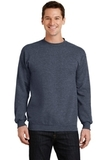 7.8-oz Crewneck Sweatshirt Heather Navy Thumbnail
