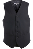 Men's Poly / Wool High Button Vest Navy Thumbnail