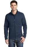 Digi Stripe Fleece Jacket Navy Thumbnail