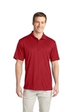 Tech Embossed Polo Regal Red Thumbnail