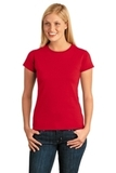 Women's Softstyle Ring Spun Cotton T-shirt Red Thumbnail