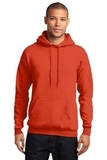 7.8-oz Pullover Hooded Sweatshirt Orange Thumbnail