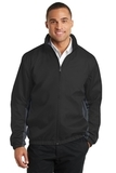 Core Colorblock Wind Jacket Black with Battleship Grey Thumbnail