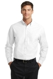 Tall SuperPro Oxford Shirt White Thumbnail