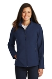 Women's Core Soft Shell Jacket Dress Blue Navy Thumbnail