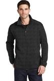 Sweater Fleece Jacket Black Heather Thumbnail