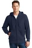 Super Heavyweight Full-zip Hooded Sweatshirt True Navy Thumbnail