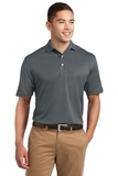 Tall Dri-mesh Polo Steel Thumbnail