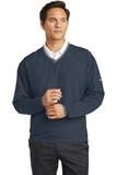 Nike Golf V-neck Wind Shirt Navy Thumbnail