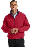 Legacy Jacket Red with Dark Navy Thumbnail