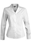 V-neck Tailored Stretch Dress Shirt White Thumbnail