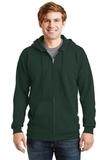 Ultimate Cotton Full-zip Hooded Sweatshirt Deep Forest Thumbnail