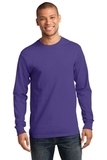 Essential Long Sleeve T-shirt Purple Thumbnail