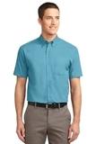 Tall Short Sleeve Easy Care Shirt Maui Blue Thumbnail